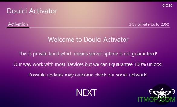 苹果解id锁工具Doulci Activator v2.3 注册版 0