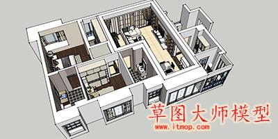 草图大师模型下载_sketchup模型库_草图大师su模型素材大全