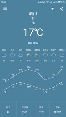 轻简天气 v1.2.8 安卓版0