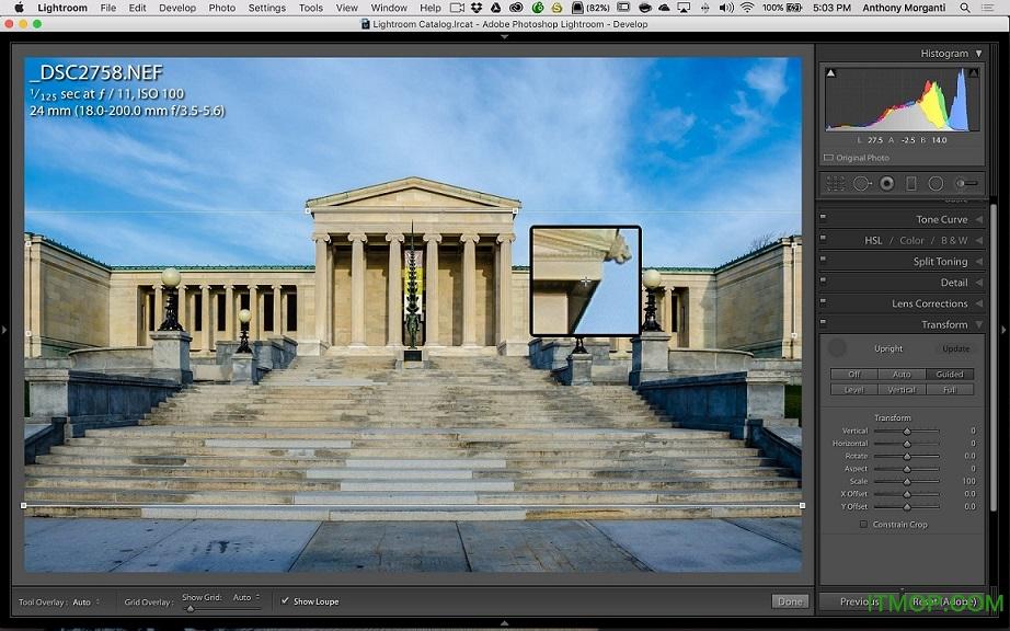 adobe camera raw mac 中文版 v13.1 官方版 0