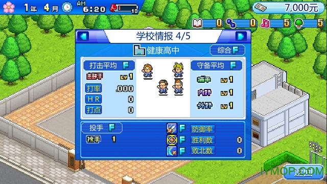 棒球部物语中文破解版 v1.0 安卓内购无限金币研究点版 3
