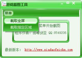 全屏游戏截图工具 v1.0 绿色版 0