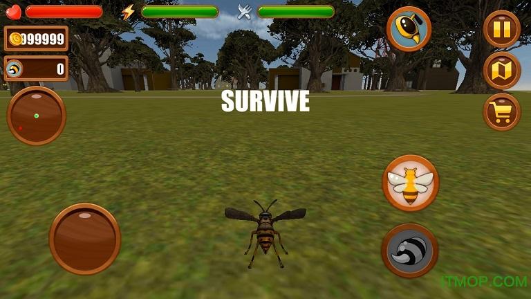 蜜蜂模拟器中文破解版 v1.1 安卓无限金币版 1