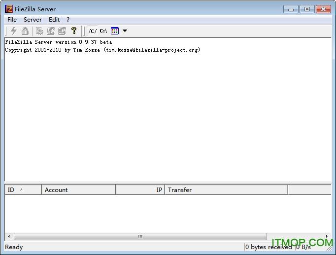 filezilla服务器端 v3.9.0.6 绿色中文版 0