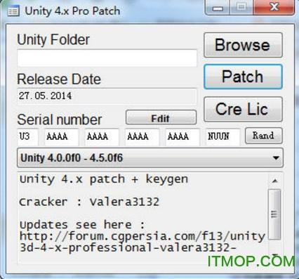 Unity3d_4.x_5.x全系列一键破解工具 免费版 0