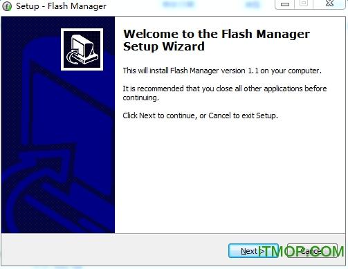 Flash播放管理�件 v1.1 英文免�M版 0