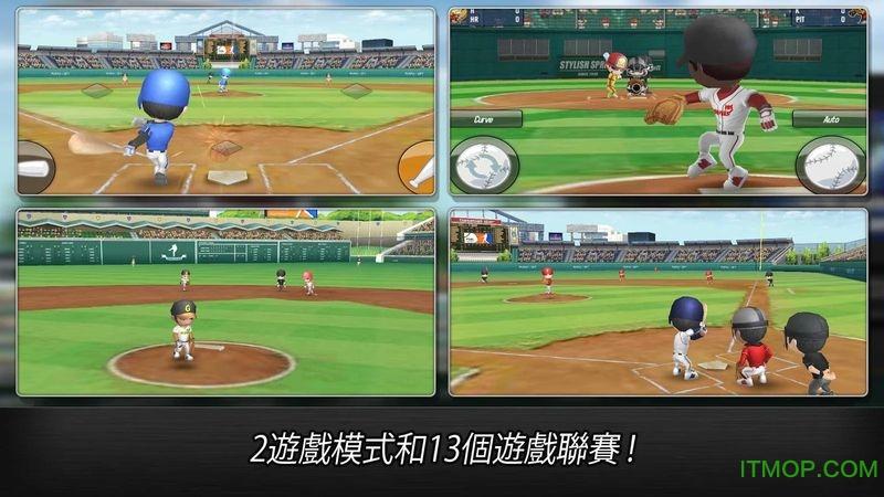 棒球英雄内购破解版 v1.2.7 安卓无限金币版2