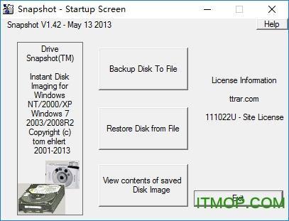 磁�P整�P�R像工具(Drive SnapShot) v1.48.0.18799 �G色版 0