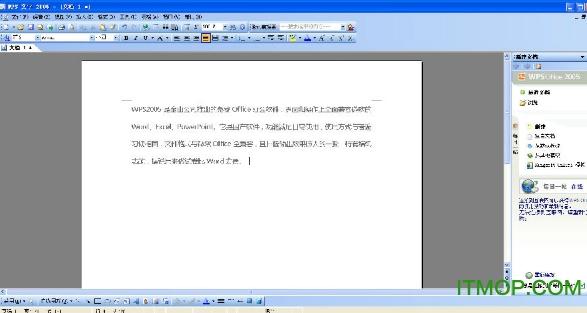 WPS Office 2005 IT猫扑门户网专用版 0