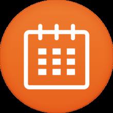 桌面绿色农历日历