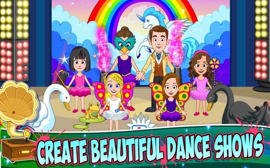 我的小镇舞蹈学校(My Town:Dance School) v1.0 官网安卓版 0