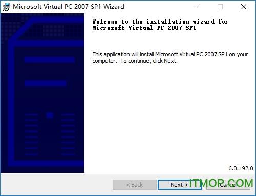Virtual PC 2007 SP1(含64位+32位) v6.0.192.0 官方版 0