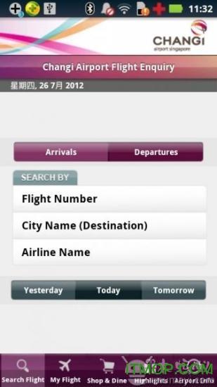 IChangi樟宜机场 v2.4.2 官网安卓版 0