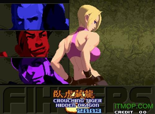 拳皇2003卧虎藏龙加强版 附出招表3