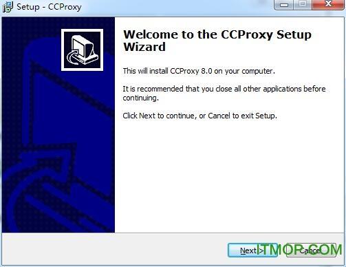 遥志代理服务器 v8.0.0.0 官方版_ccproxy中文版 0