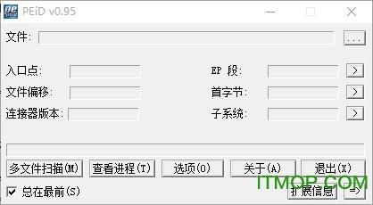 PEiD中文版 v0.95 全插件汉化版 0