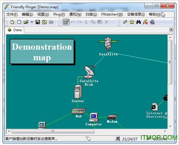 网管腾博会官网Friendly Pinger v5.0.1 汉化版 0