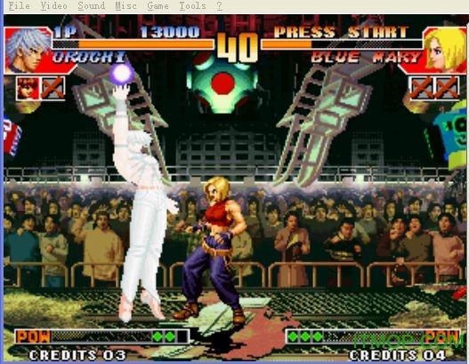 拳皇97风云再起大蛇版 无限气版0