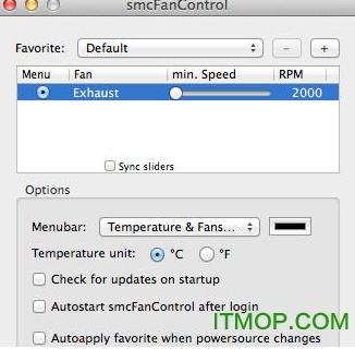 smcfancontrol for mac中文版(风扇速度调节工具) v2.5 官方版 0