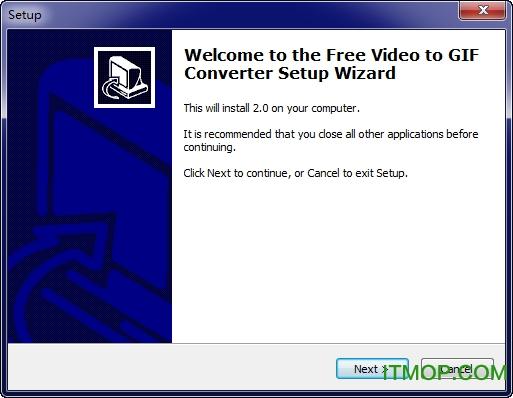 视频转为GIF(Free Video to GIF Converter) v2.01 官方版 0