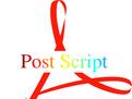 adobe postscript打印机驱动