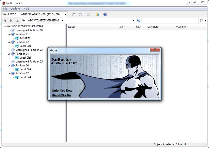 IsoBuster Pro(提取ISO文件) v4.3 Final 多�Z�G色特�e版 0