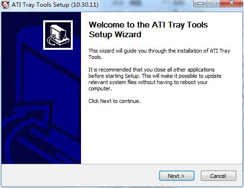 ATI Tray Tools(ati显卡优化工具) v1.7.9.1573 Beta 简体中文版 1