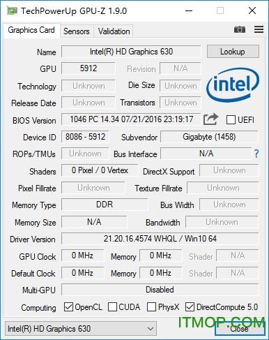 GPU-Z(�@卡GPU信息查看器) v2.40.0 官方英文最新版 0