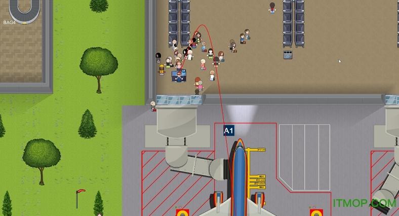 模拟机场simairport中文版 绿色免安装版 0