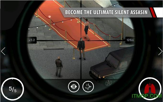 hitman sniper无限金币中文版 v1.7.128077 安卓内购破解版1