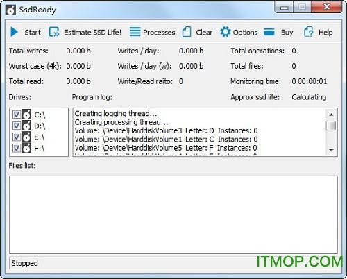 Ssdready(Ssd固态硬盘寿命检测工具) v1.30 免费版 0