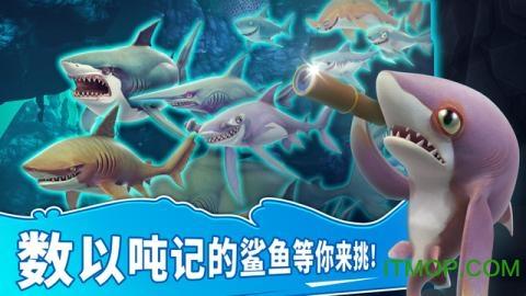 饥饿鲨世界3d中文破解版 v1.4.4 安卓无限金币版 1