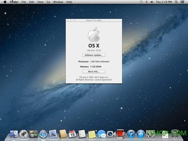苹果操作系统OS X Mountain Lion(完整镜像) v10.8 官方正式版 0