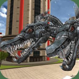 飞龙变形机器人2无敌无限技能版(Dragon Robot 2)
