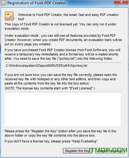 Foxit PDF Creator 破解版(32位64位) v4.0.0.828 免费版 1