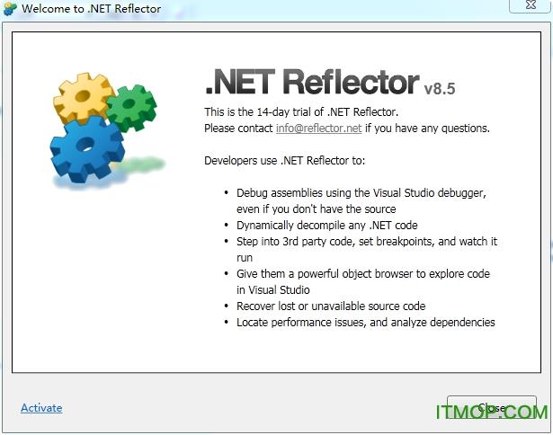 .net反编译工具(reflector 8) v8.5.0.179 绿色注册版 0