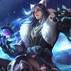 王者荣耀李白千年之狐主题桌面