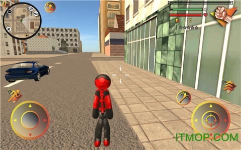 火柴蜘蛛人英雄2手游 v1.1 安卓官�W版 0