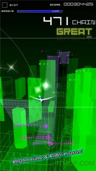 节奏过山车2最新破解版(Groove Coaster) v3 1.0.9 安卓全解锁版1