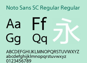 noto sans regular