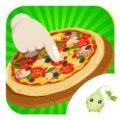 萌娘制作披萨