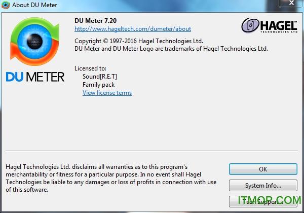 DU Meter 汉化绿色版 v7.8 中文特别版 0