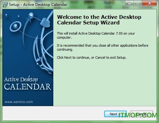 Active Desktop Calendar(备忘录/闹铃日历工具) v7.95 绿色英文版 0