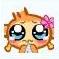 悠嘻猴的女朋友QQ表情