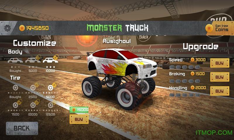 怪兽卡车比赛游戏内购版 v1.0 安卓版 2