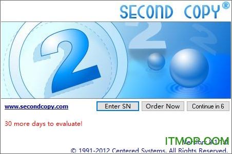 Second Copy自动备份软件