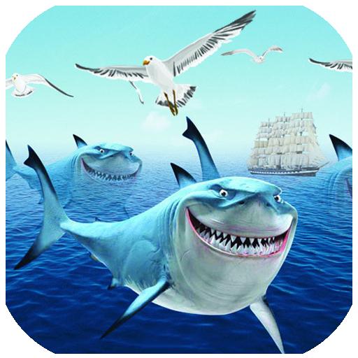 鲨鱼抢滩游戏破解版