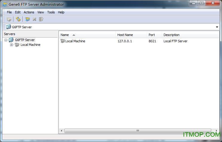 FTP服务器(Gene6 G6 FTP Server) v3.10.0.2 中文绿色专业版 0
