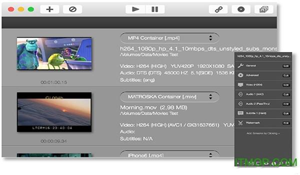 iFFmpeg for mac视频格式转换 v6.3.3 官方版 0