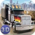 美国卡车司机3d内购破解版无限金币版(American Truck)